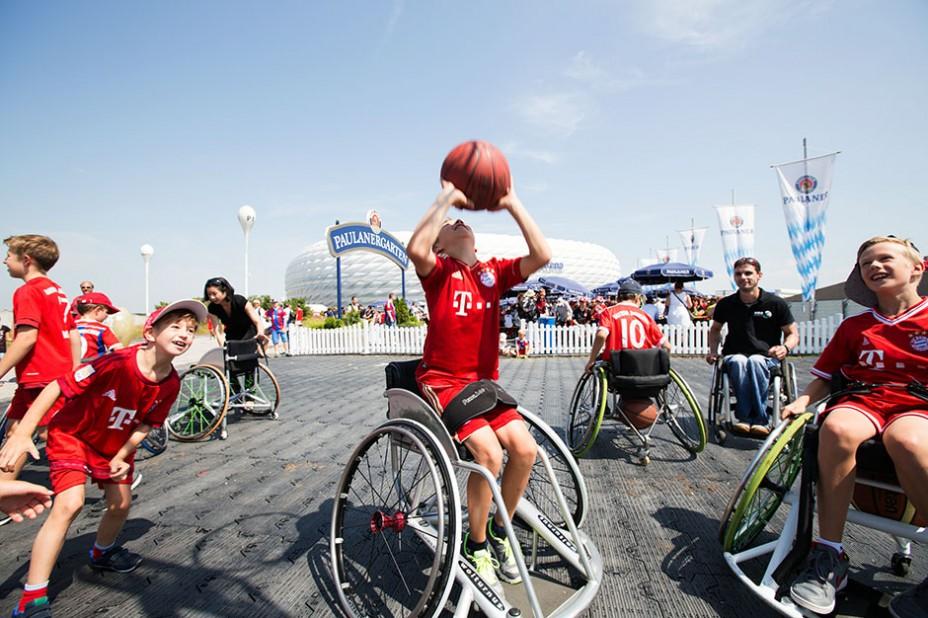 Inklusion durch Sport wird auch in den nächsten Jahren ein wichtiges Thema bleiben