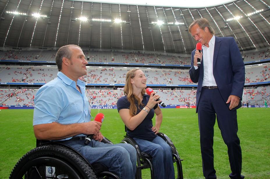 Nachgefragt: Moderator Gerhard Delling im Gespräch mit Paralympik-Star Anna Schaffelhuber