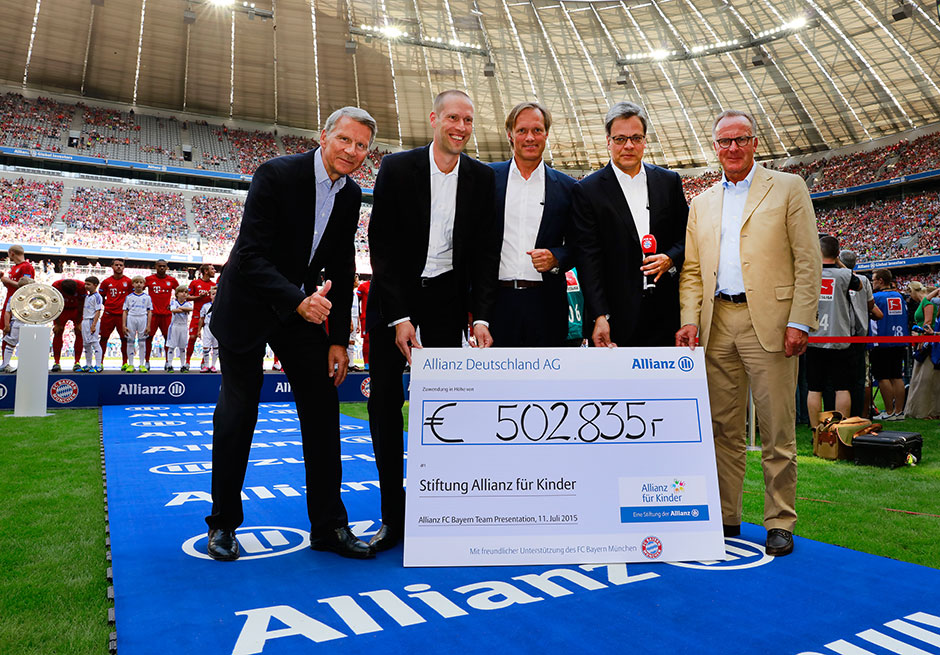 Allianz FC Bayern Team Presentation 2015