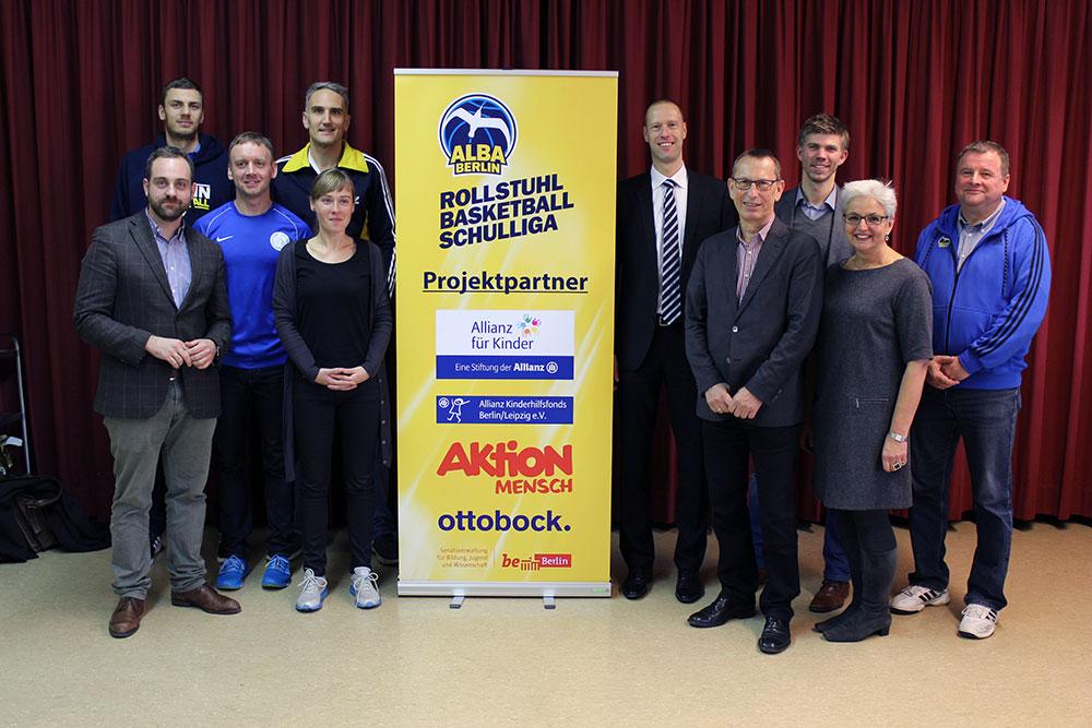 ALBA BERLIN Rollstuhlbasketball-Schulliga – Auftaktturnier in Berlin am Welttag der Menschen mit Behinderung