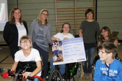 """Aufbau einer Sportgruppe """"Race Runner"""" mit Kindern mit Körper- und Mehrfachbehinderung"""
