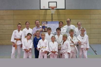 Judogruppe behinderte Kinder
