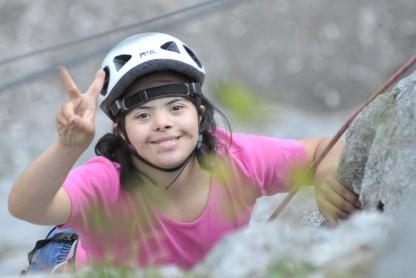 Ausflug in den Klettergarten