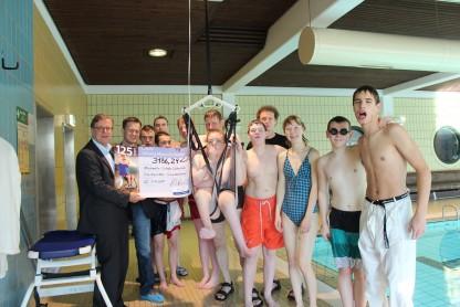 Deckenlifter für Schwimmtraining