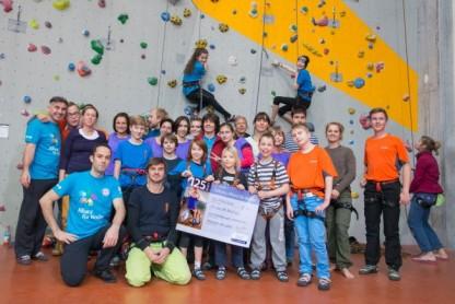Klettern mit behinderten Kindern