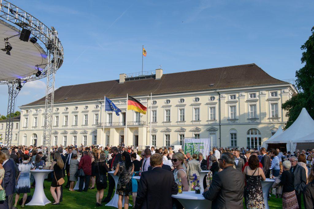 Am 9. und 10. September 2016 waren über 5.000 Ehrenamtler zu Gast im Schloss Bellevue
