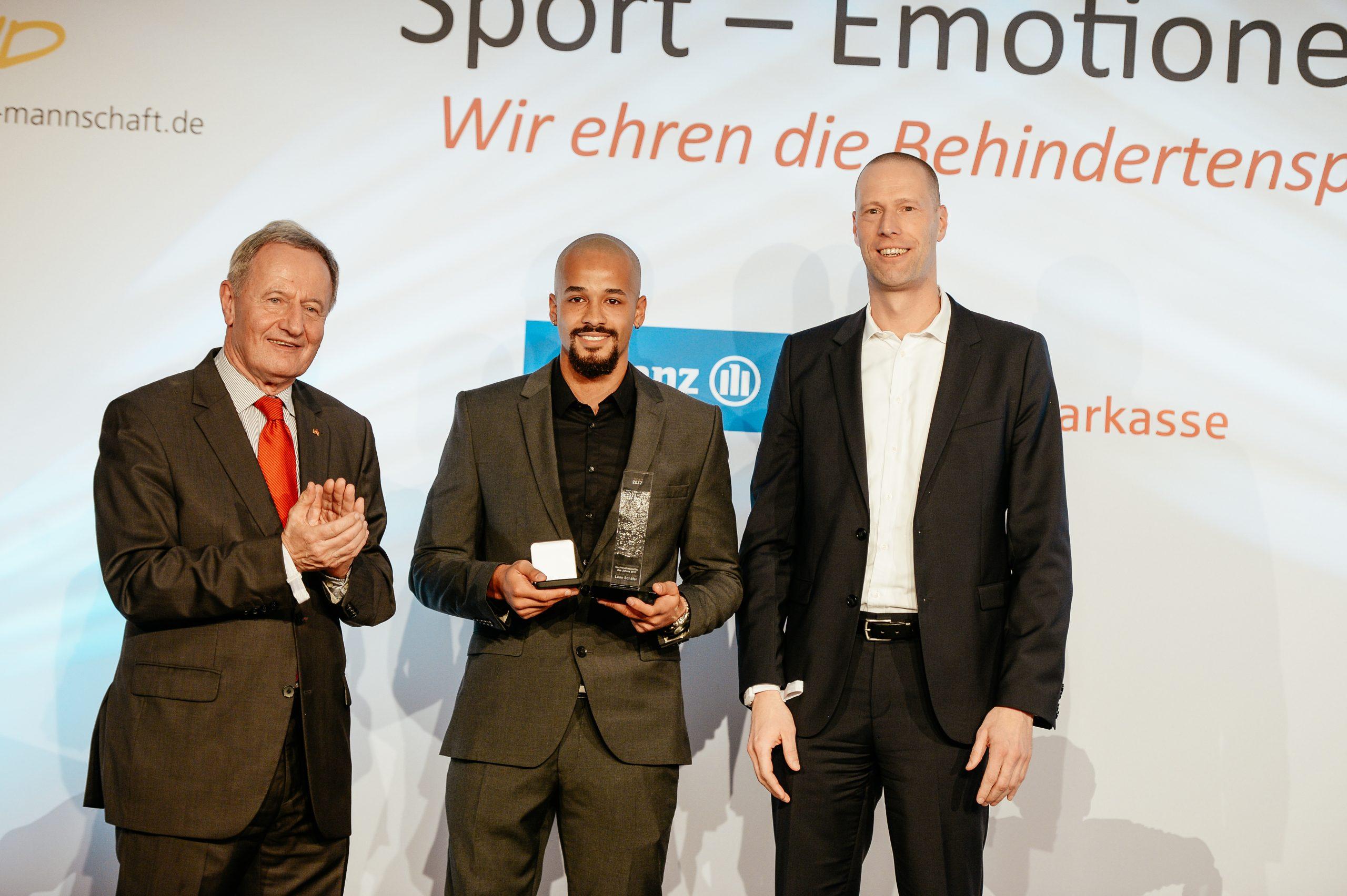Wahl zum Behindertensportler des Jahres: Der Nachwuchspreis geht 2017 an Leon Schäfer