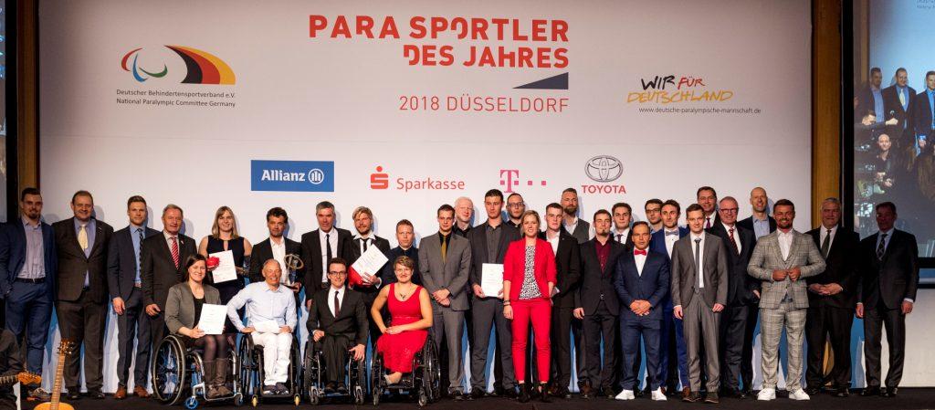 Große Bühne für den Behindertensport