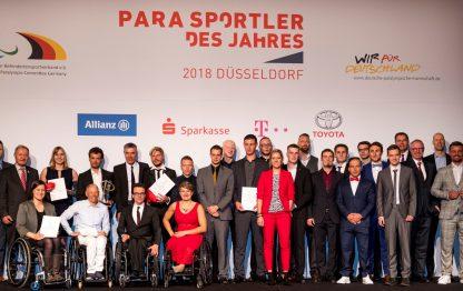 Ehrung der besten Parasportler des Jahres