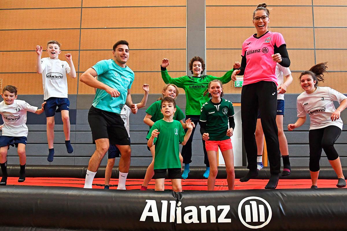 Wir bewegen Kinder. Stiftung Allianz für Kinder